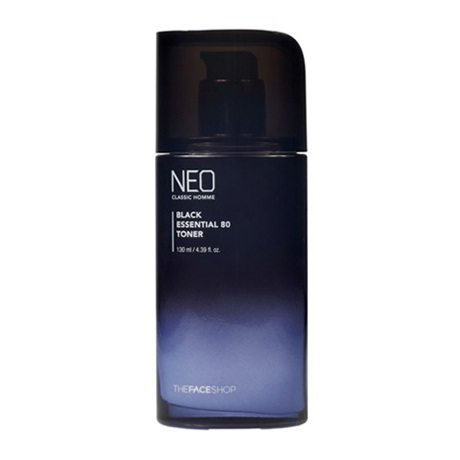 The Face Shop Neo Classic Homme Black Essential 80 Toner 130ml korean cosmetic  men skincare product online shop  malaysia poland finland