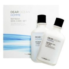 The Face Shop Neo Classic Homme Dear Ocean Skin Care Set Toner 110ml and  Lotion 110ml korean cosmetic men skincare product online shop  malaysia poland finland