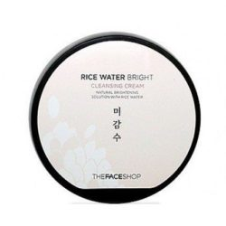 The Face Shop Rice Water Bright Cleansing Cream 200ml korean cosmetic  skincare  cleanser product  online shop malaysia  italy usa