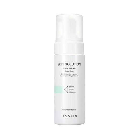 it's Skin Skin Solution Bubble Foam 150ml korean cosmetic skincare shop malaysia singapore indonesia