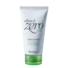 Banila Co Clean it Zero Fresh Foam Cleanser 150ml korean cosmetic skincare shop malaysia singapore indonesia