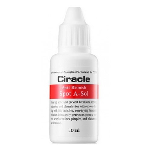 COSRX CIRACLE Anti Blemish Spot A Sol 30ml korean cosmetic special skincare product online shop malaysia thailand laos