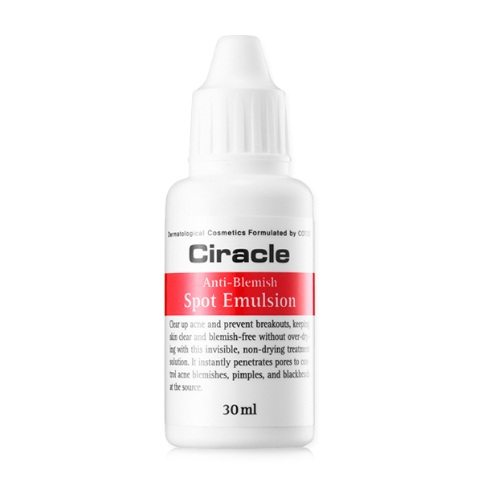 COSRX CIRACLE Anti Blemish Spot Emulsion 30ml korean cosmetic special skincare product online shop malaysia thailand laos