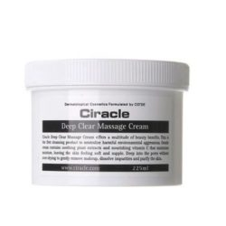COSRX CIRACLE Deep Clear Massage Cream 225ml korean  cosmetic skincare cleanser product online shop malaysia macau brunei