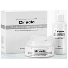 COSRX CIRACLE Skin Renewal Home Peeling Pads 70ml + 35 Sheets set 150ml korean cosmetic skincare cleanser product online shop malaysia macau brunei