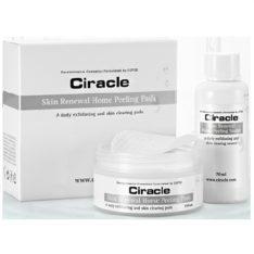 COSRX CIRACLE Skin Renewal Home Peeling Pads 70ml + 35 Sheets set 150ml korean cosmetic skincare cleanser product online shop malaysia macau brunei