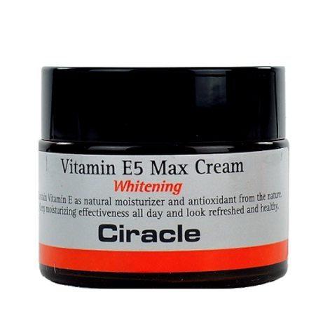 COSRX CIRACLE Vitamin E5 Max Cream Whitening 50ml korean cosmetic skincare product online shop malaysia australia canada