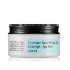 COSRX Ultimate Nourishing Rice Overnight Spa Mask 50g  korean cosmetic special skincare product online shop malaysia thailand laos