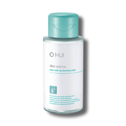 OHUI Clear Science Easy Wash Up Cleansing Water 300ml korean cosmetic skincare shop malaysia singapore indonesia