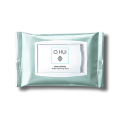 OHUI Clear Science Tender Cleansing Sheet 60ea 250g korean cosmetic skincare shop malaysia singapore indonesia
