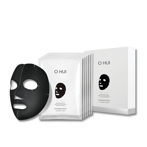OHUI Extreme White 3d Black Mask korean cosmetic skincare shop malaysia singapore indonesia