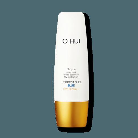 OHUI Perfect Sun Blue 50ml korean cosmetic skincare shop malaysia singapore indonesia