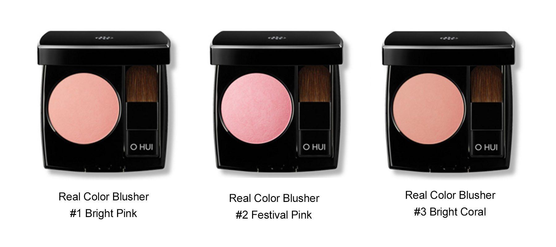OHUI Real Color Blusher 17g malaysia singapore indonesia