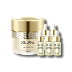 OHUI The First Cell Revolution Night Treatment Mask 60ml and Oil 5ml korean cosmetic skincare shop malaysia singapore indonesia