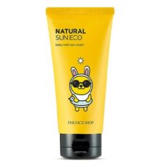 The Face Shop Natural Sun Eco Baby Mild Sun Cream SPF 30 PA+++ 50ml korean cosmetic makeup product online shop malaysia  thailand  bhutan