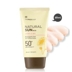 The Face Shop Natural Sun Eco Photogenic Sun Blur SPF 50 PA+++ 45ml korean cosmetic makeup product online shop malaysia  thailand  bhutan