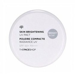 The Face Shop Skin Brightening UV Pact SPF 50 PA+++ 11g korean cosmetic makeup product online shop malaysia  thailand  bhutan