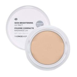 The Face Shop Skin Brightening UV Pact SPF 50 PA+++ 11g [refill] korean cosmetic makeup product online shop malaysia  thailand  bhutan