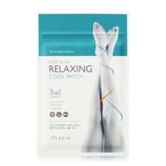 it's Skin Secret Body Solution Foot and Leg Relaxing Cool Patch 5g x 4ea korean cosmetic skincare shop malaysia singapore indonesia