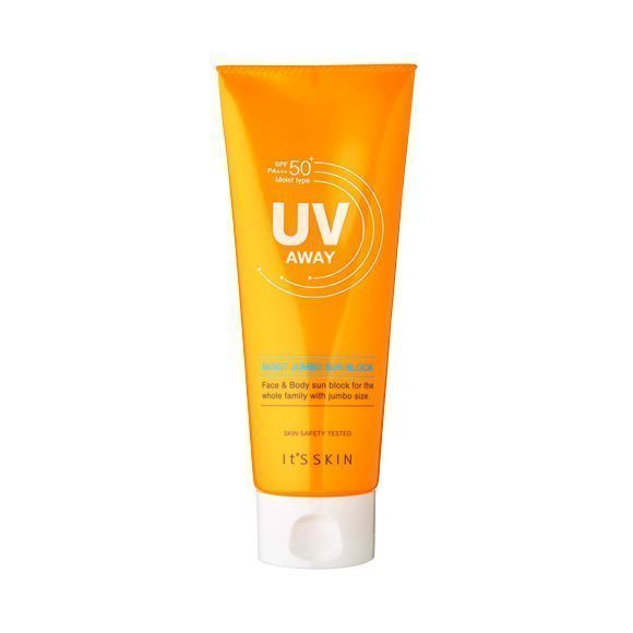 it's Skin UV Away Moist Jumbo Sun Block SPF 50 PA+++ 150ml korean cosmetic skincare shop malaysia singapore indonesia