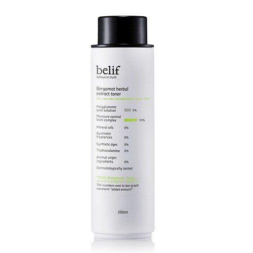 Belif Bergamot Herbal Extract Toner 200ml korean cosmetic skincare product online shop malaysia indonesa singapore
