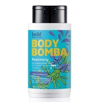 Belif Body Bomba - Rosemary 250ml korean cosmetic body and hair product online shop malaysia vietnam singapore
