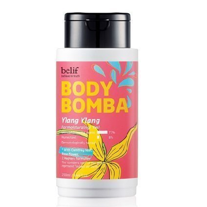 Belif Body Bomba - Ylang Ylang 250ml korean cosmetic body and hair product online shop malaysia vietnam singapore