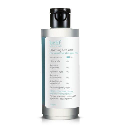 Belif Cleansing Herb Water 200ml korean cosmetic skincare cleanser product online shop malaysia brunei macau