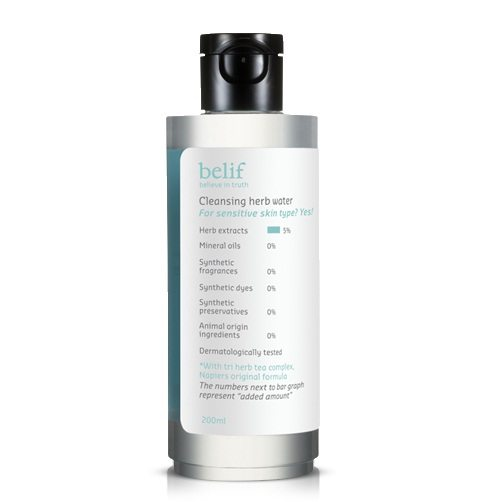 Belif Cleansing Herb Water 200ml korean cosmetic skincare cleanser product online shop malaysia brunei macau