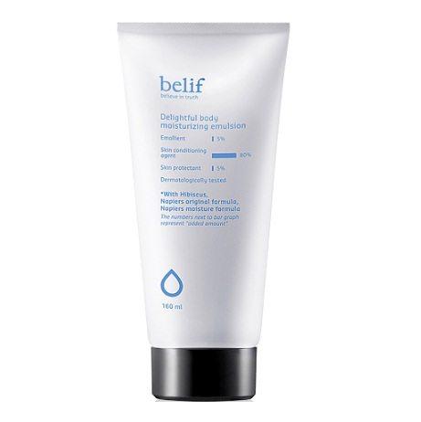 Belif Delightful Body Moisturizing Emulsion 160ml korean cosmetic body and hair product online shop malaysia vietnam singapore