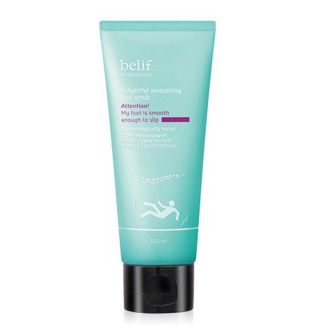 Belif Delightful Smoothing Foot Scrub 100ml korean cosmetic body and hair product online shop malaysia vietnam singapore
