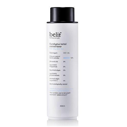 Belif Eucalyptus Herbal Extract Toner 200ml korean cosmetic skincare product online shop malaysia indonesa singapore