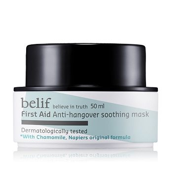 Belif First Aid Anti Hangover Soothing Mask 50ml korean cosmetic skincare product online shop malaysia indonesa singapore