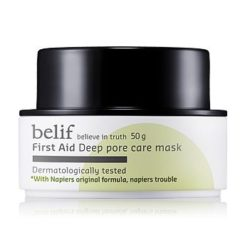 Belif First Aid Deep Pore Care Mask 50ml korean cosmetic skincare product online shop malaysia indonesa singapore