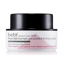 Belif First Aid Overnight Anti Wrinkle and Firming Mask 50ml korean cosmetic skincare product online shop malaysia indonesa singapore