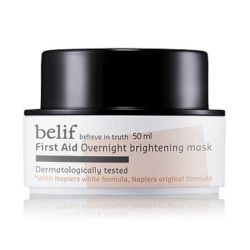Belif First Aid Overnight Brightening Mask 50ml korean cosmetic  skincare product online shop malaysia  indonesa  singapore