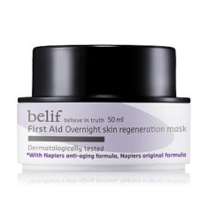 Belif First Aid Overnight Skin Regeneration Mask 50ml korean cosmetic  skincare product online shop malaysia  indonesa  singapore
