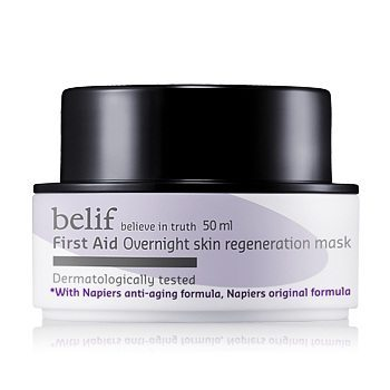 Belif First Aid Overnight Skin Regeneration Mask 50ml korean cosmetic  skincare product online shop malaysia  indonesa  singapore