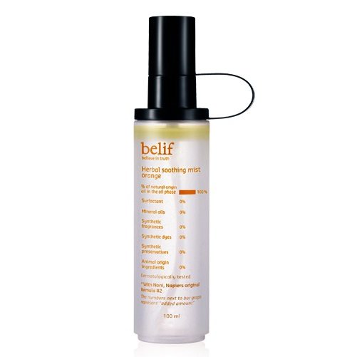 Belif Herbal Soothing Mist Orange 100ml korean cosmetic skincare product online shop malaysia indonesa singapore