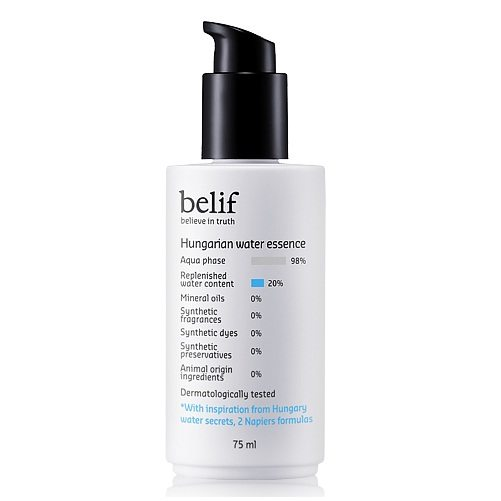 Belif Hungarian Water Essence 75ml korean cosmetic skincare product online shop malaysia indonesa singapore