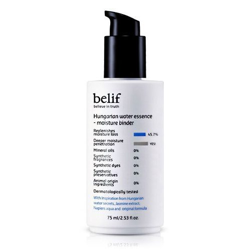Belif Hungarian Water Essence - Moisture Binder 75ml korean cosmetic skincare product online shop malaysia indonesa singapore