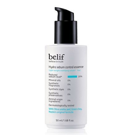 Belif Hydra Sebum Control Essence 50ml korean cosmetic skincare product online shop malaysia indonesa singapore