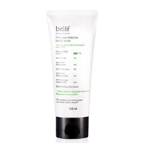 Belif Mild and Effective Facial Scrub 100ml korean cosmetic skincare cleanser product online shop malaysia brunei macau