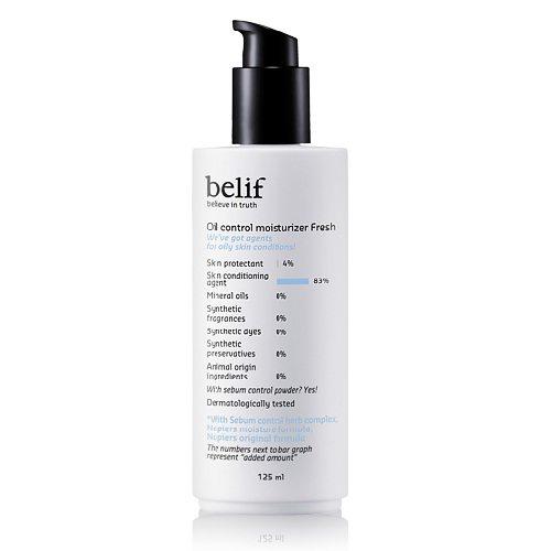 Belif Oil Control Moisturizer Fresh 125ml korean cosmetic skincare product online shop malaysia indonesa singapore