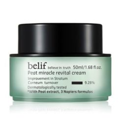 Belif Peat Miracle Revital Cream 50ml korean cosmetic skincare product online shop malaysia indonesa singapore