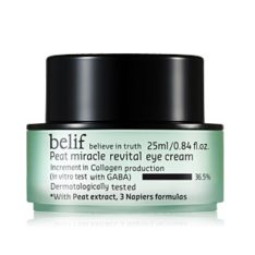 Belif Peat Miracle Revital Eye Cream 25ml korean cosmetic skincare product online shop malaysia indonesa singapore