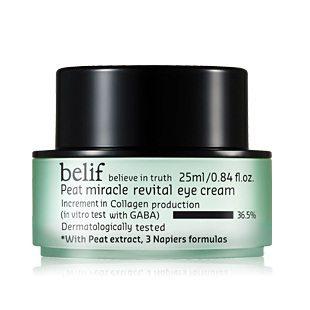 Belif Peat Miracle Revital Eye Cream 25ml korean cosmetic skincare product online shop malaysia indonesa singapore