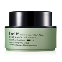 Belif Peat Miracle Revital Mask 50ml korean cosmetic skincare product online shop malaysia indonesa singapore