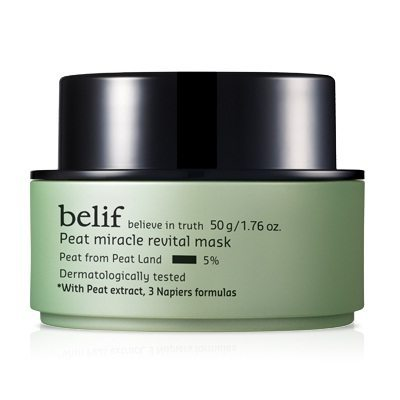 Belif Peat Miracle Revital Mask 50ml korean cosmetic skincare product online shop malaysia indonesa singapore