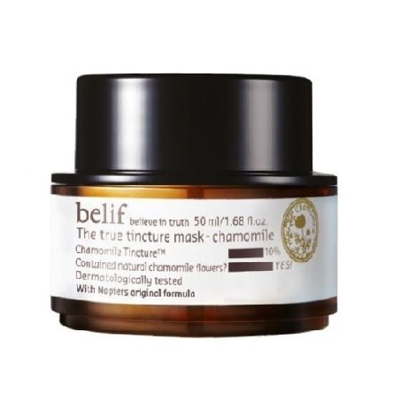 Belif The True Tincture Mask - Chamomile 50ml korean cosmetic  skincare product online shop malaysia  indonesa  singapore
